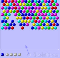 Онлайн Шарики bubble shooter